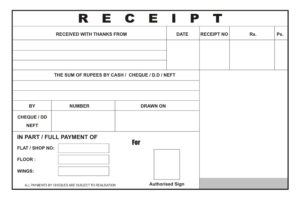 bills and receipts data entry services