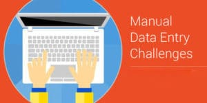 manual data entry challenges