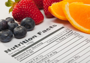 nutritional data labeling